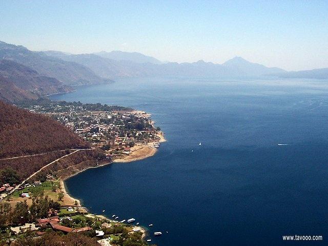 22 Jezioro Atitlan - Gwatemala