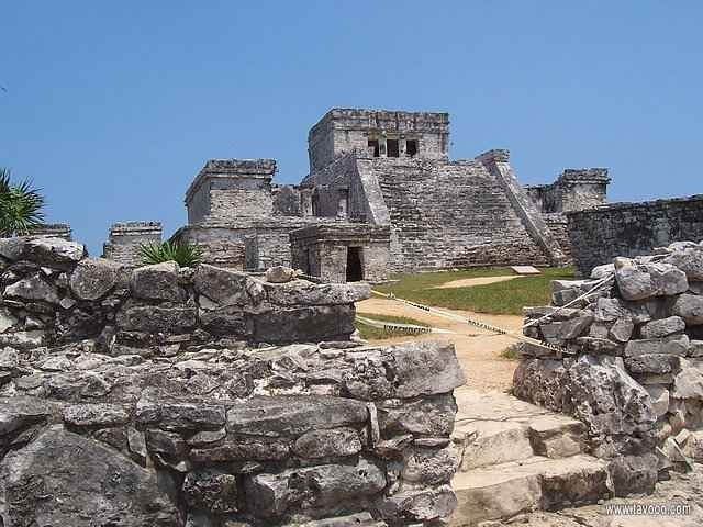 27 Ruiny Majow - Meksyk