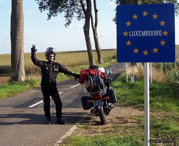 46 Poczatek podrozy po Luksemburgu