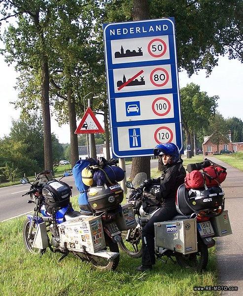 48 Poczatek przeprawy przez Holandie