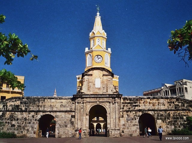 4 Wieza zegarowa w Cartagenie - Kolumbia