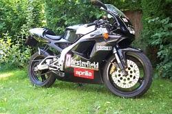 Aprilia RS 125 black