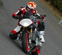 Aprilia Tuono Racing kolano