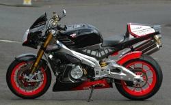 Aprilia Tuono Racing lewy profil