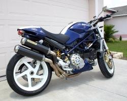 Ducati Monster S4R arrow