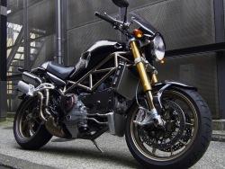 Ducati Monster S4R czarny