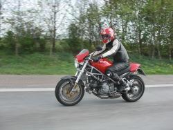 Ducati Monster S4R jazda 2