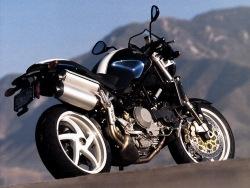 Ducati Monster S4R prawy tyl