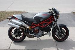 Ducati Monster S4R szary mat
