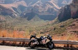 CBR600RR w kanionie