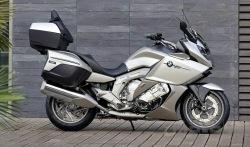 srebrne malowanie BMW K1600 GTL