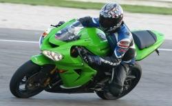 kawasaki ZX10R zielony