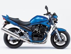Suzuki GSF 650 Bandit N bok