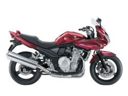 Suzuki GSF 650 Bandit S czerwony
