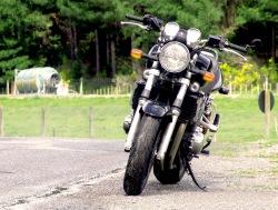 przod motocykla Suzuki GSX 1400