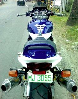 widok od tylu Suzuki GSX 1400