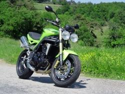 wsciekla zielen Triumph Speed Triple