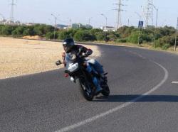 Kawasaki GPZ500 apeks