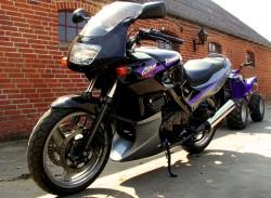Kawasaki GPZ500 czarna