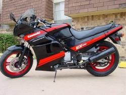 Kawasaki GPZ500 prawy bok