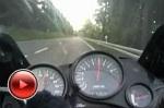 Kawasaki GPZ500 w trasie