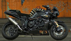 BMW K1200R Resident Evil