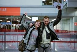 Paczki na lotnisku
