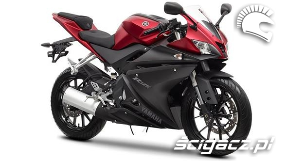 zdj cia yamaha yzf r125 yamaha prezentuje motocykle do 125ccm. Black Bedroom Furniture Sets. Home Design Ideas