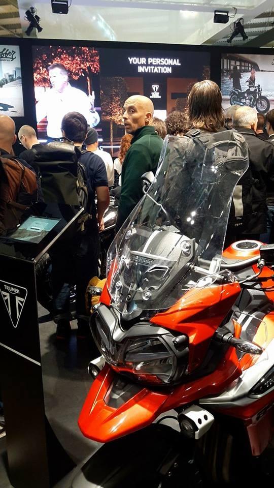 Triumph Tiger 1200 2018 Mediolan