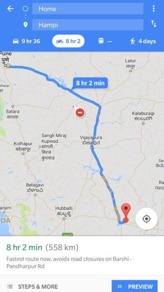 google maps dla motocyklistow 2