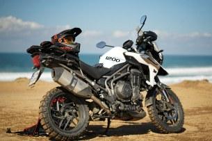 Kask Scott 550 Hatch i Gogle motocyklowe Scott Prospect 05