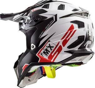 MX470 SUBVERTER EMPEROR BLACK WHITE RED 404702212 B