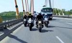 BMW R nineT na drodze