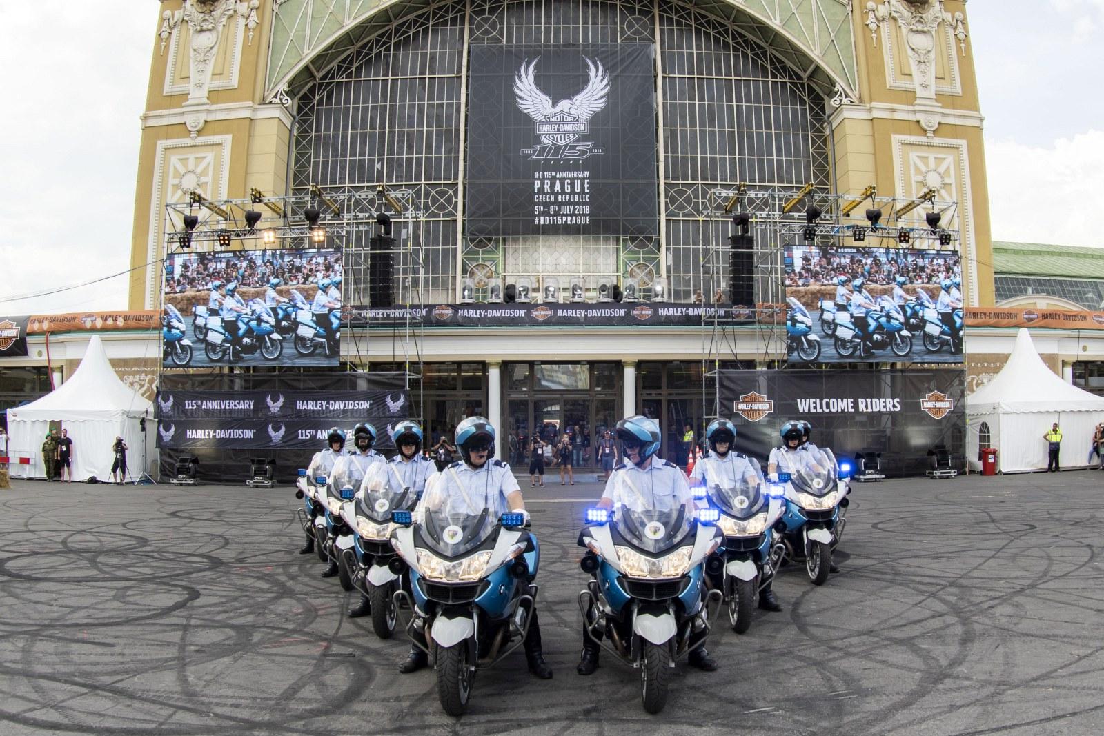 115 rocznica Harley Davidson w Pradze 2018 18