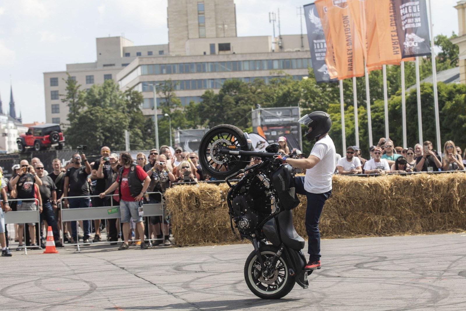 115 rocznica Harley Davidson w Pradze 2018 19
