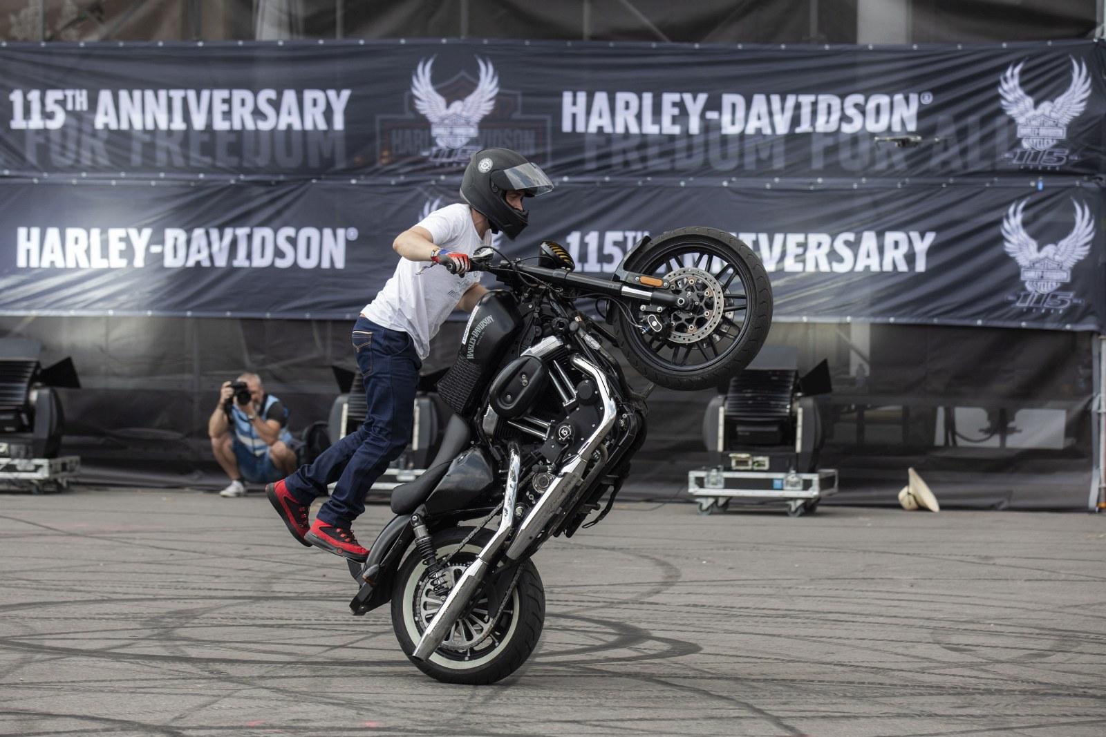 115 rocznica Harley Davidson w Pradze 2018 20