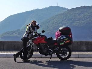 Kobieca wyprawa motocyklowa na  Balkany 31