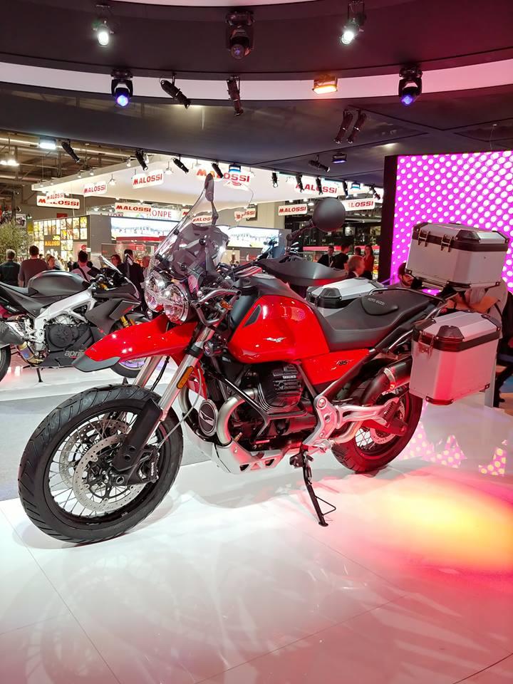 2019 Moto Guzzi V85 TT 8