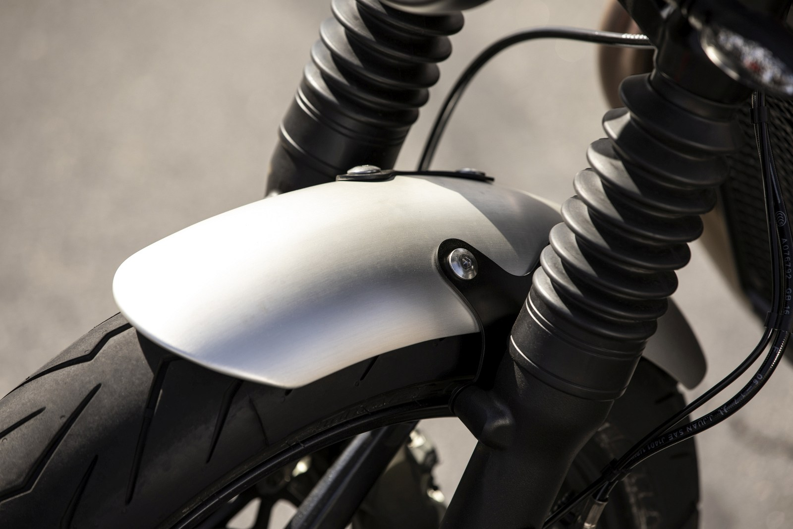 2019 Speed Twin ALUMINIUM MUDGUARDS