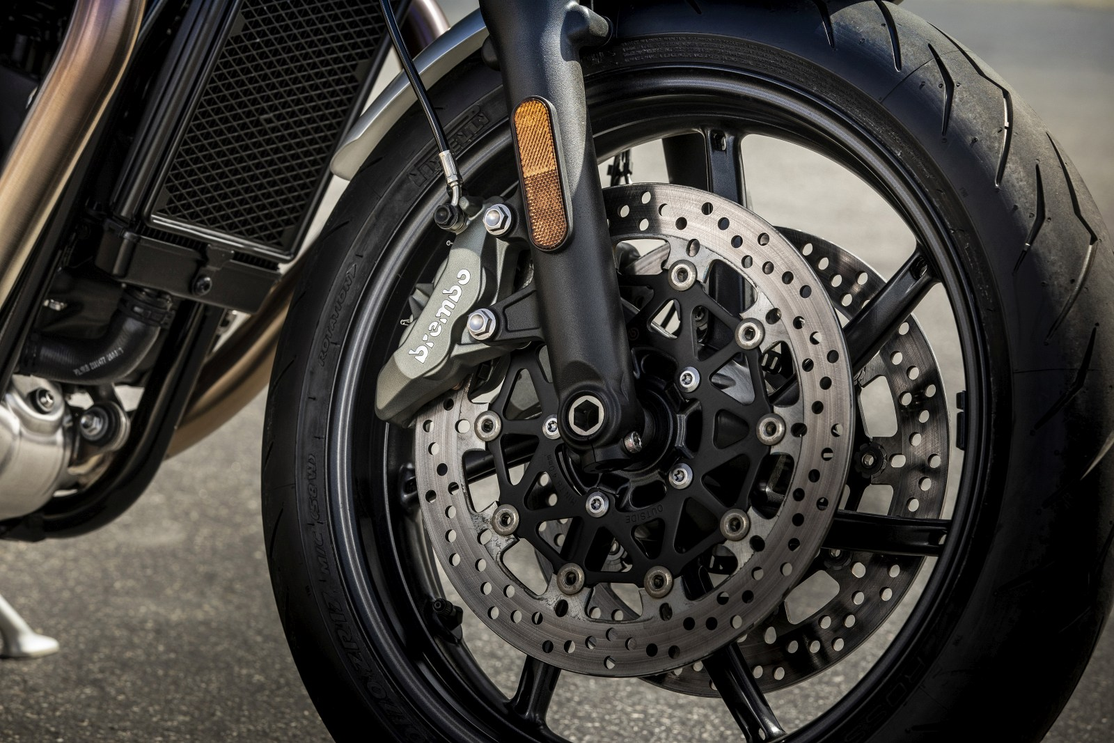 2019 Speed Twin BREMBO BRAKES