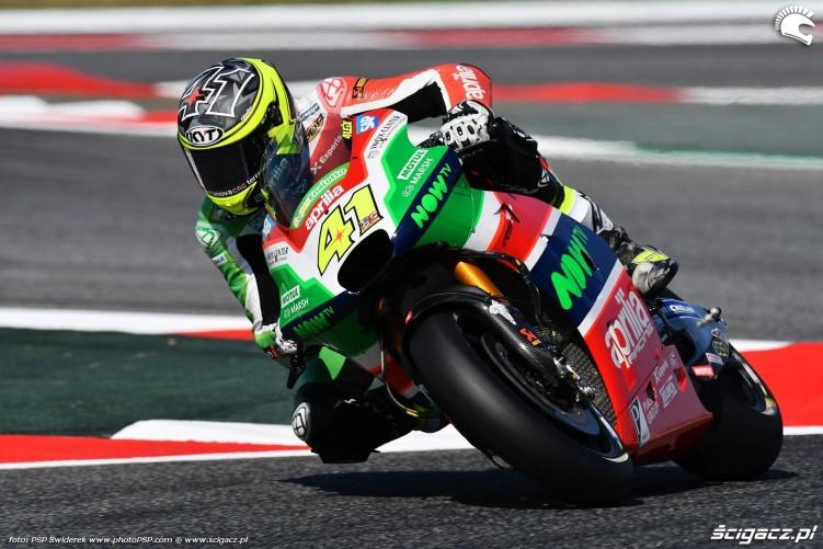 MotoGP Catalunya Aprilia 41 Aleix Espargaro 18