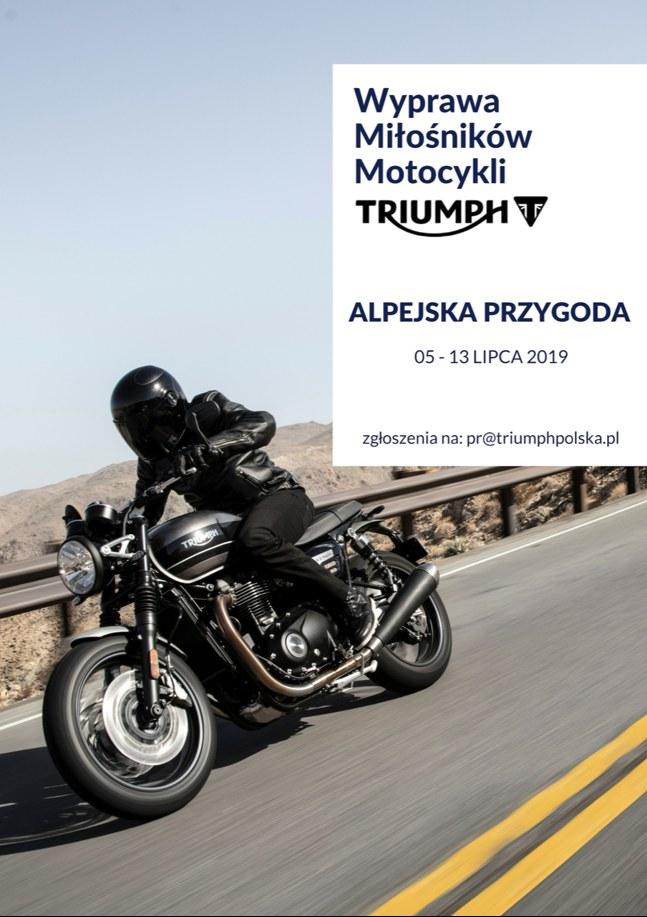 Triumph Alpejska Przygoda 2019
