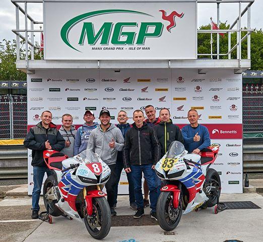 Manx Grand Prix 2019 Krystian Paluch 12