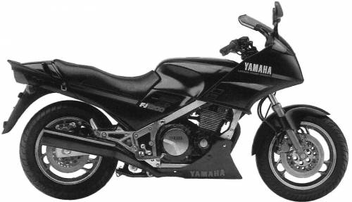 Yamaha FJ1200 1986 LIMITED to 500px