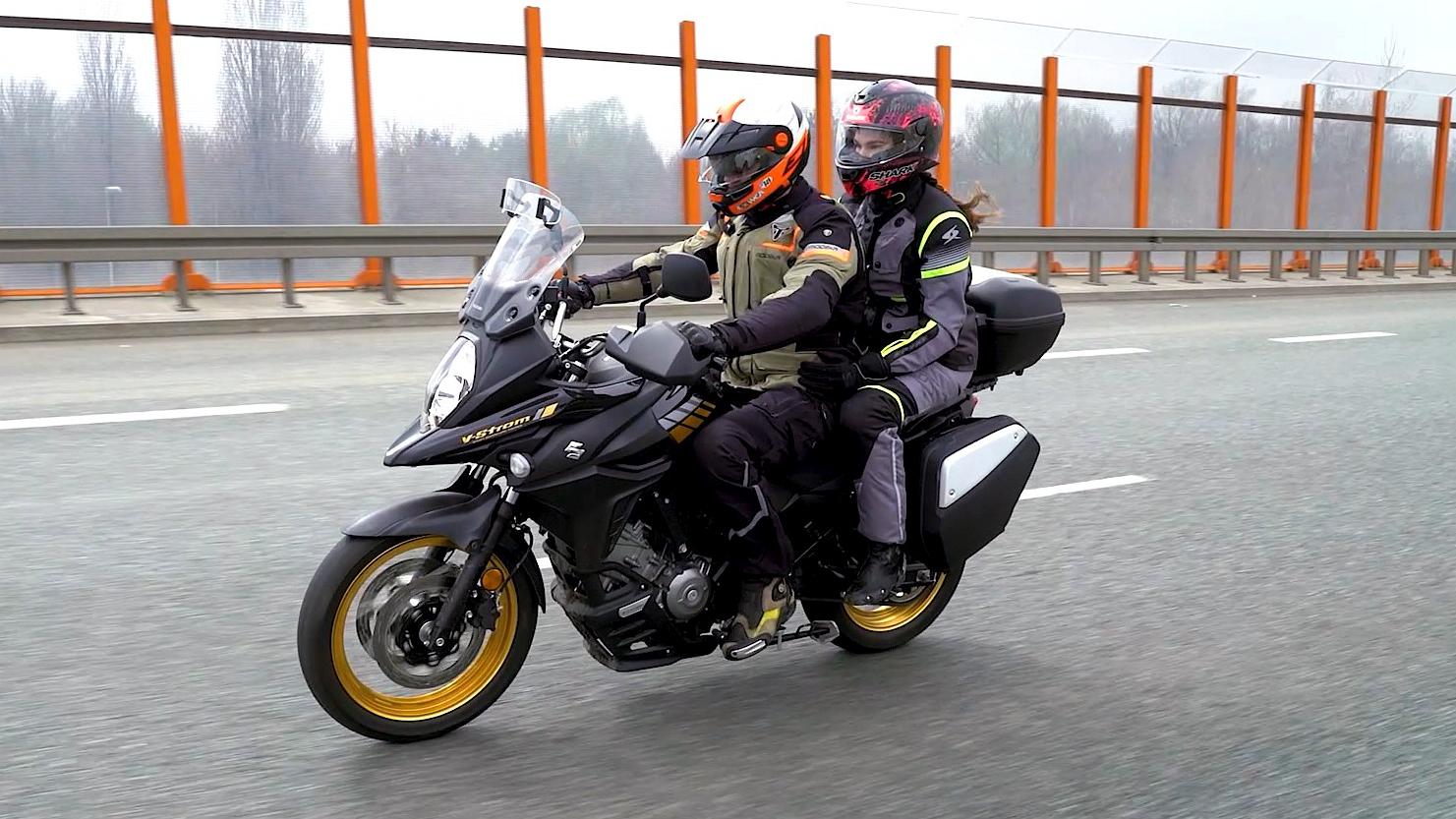 08 Suzuki DL 650 XT jazda
